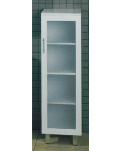 Samco Tall Boy Cabinet Glass Doors