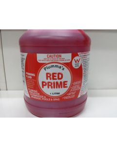 1Litre Plumbers Red Prime