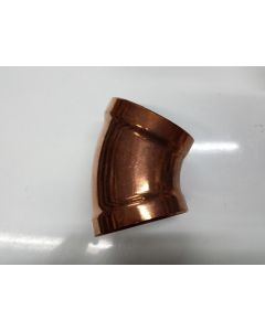 100mm x 45 degrees Copper Bends
