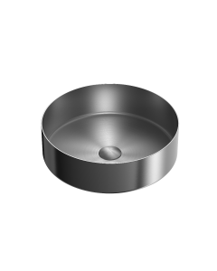 Nero 400mm Stainless Steel Above Counter Basin - Graphite