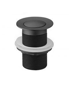 Modern National 32mm Matte Black Plug and Waste