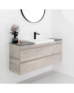 ADP Emporia All-Drawer Wall Hung Semi-Recessed Vanity