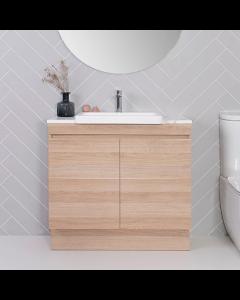 ADP Mayfair Semi-Recessed Floor Standing Vanity