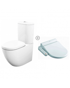 TOTO Basic + Washlet Bidet Shower Toilet Suite