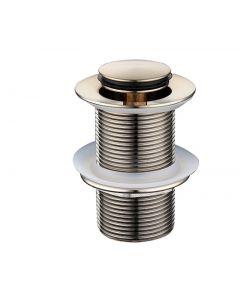 Modern National 32mm Brushed Nickel Plug and Waste