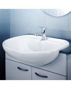 Caroma Caravelle 550 Semi Recessed Vanity Basin