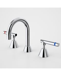 Caroma Elegance Care Lever Basin Set Hot and Cold