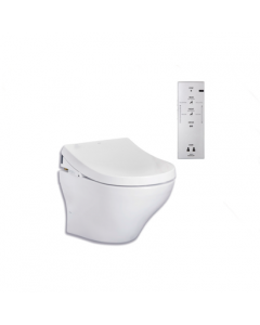 TOTO MH Wall Hung Toilet And Washlet Seat With Remote