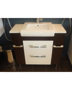 925mm x 460mm Samco Two Tone New Design Vanity