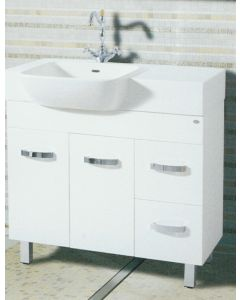 900mm Semi Recessed New Design Vanity