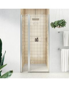 Decina Fitzroy 900/1000/1200 Frameless Pivot Alcove Shower Screen