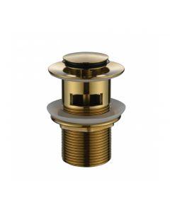 Modern National 32mm Brushed Bronze Plug and Waste Overflow