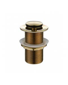 Modern National 32mm Brushed Bronze Pop Up Plug and Waste