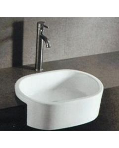Samco 560mm Semi Recessed Basin