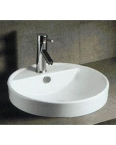 Samco KN4063 Round Drop In Basin