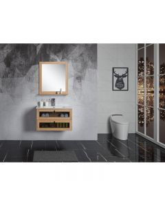 BelBagno 800mm Manhattan Bathroom Vanity Wall Hung