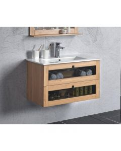 BelBagno 600mm Manhattan Bathroom Vanity Wall Hung