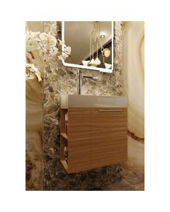 BelBagno 600mm Maria Narrow Bathroom Vanity