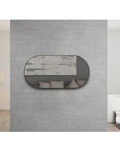 Inspire Noosa 1200mm x 600mm Mirror Matte Black