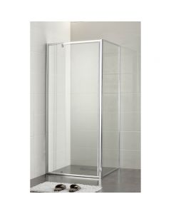 ACL 1000mm x 1000mm Square Semi Framless Shower Screen