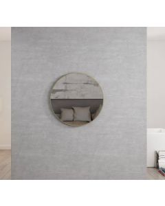 Inspire London 700mm Mirror Brushed Gold