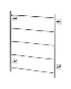 Phoenix Radii Towel Ladder 550 x 740mm Square Plate - Chrome