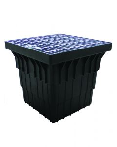 450mm x 450mm x 325mm Stormwater Pit & Medium Duty Grate