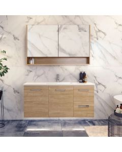 Timberline Nevada Wall Hung Vanity with Regal Acrylic Top