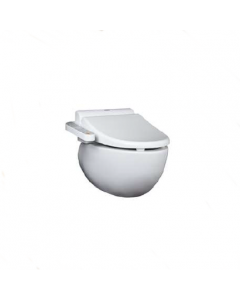 TOTO Le Muse Wall Hung Toilet with Washlet Seat Side Control