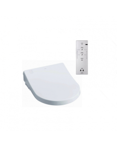 TOTO Washlet Toilet Seat with Remote Control (D-Shaped Seat)