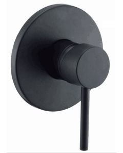 Fosca Black Shower Mixer